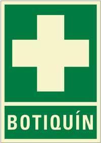 Señales PVC - Botiquín