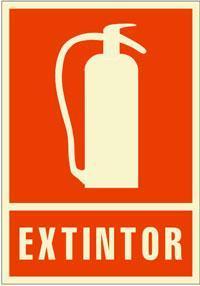 Señales PVC - Extintor